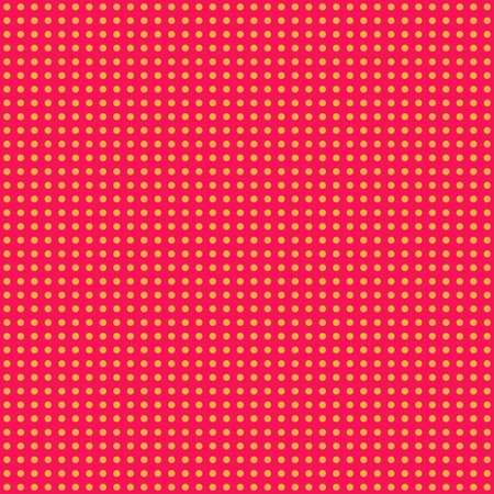 Hot Pink   Orange Mini Polkadot Paper