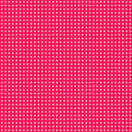 Hot Pink   Gray Mini Polkadot Paper