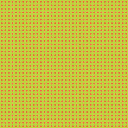 Lime   Peach Mini Polkadot Paper