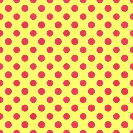 Yellow   Pink Polkadot Paper