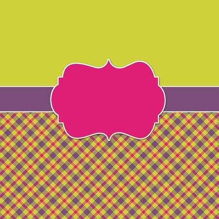 Plaid   Colorful Background