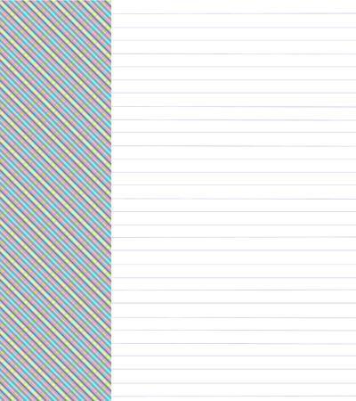 notebook: Plaid Notebook Paper