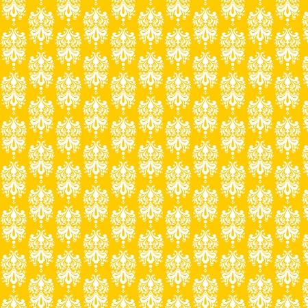 Lemon Damask Paper