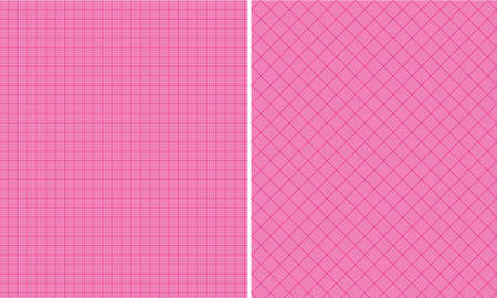 Hot Pink Houndstooth Paper Set Stock fotó