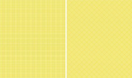 Lemon Houndstooth Paper Set Stock fotó - 13226895