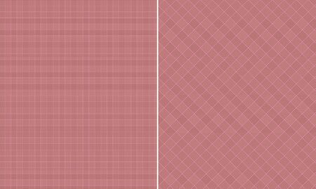 Pink   Brown Houndstooth Paper Set