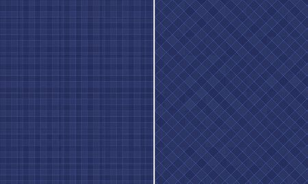 Black   Blue Houndstooth Paper Set Banco de Imagens