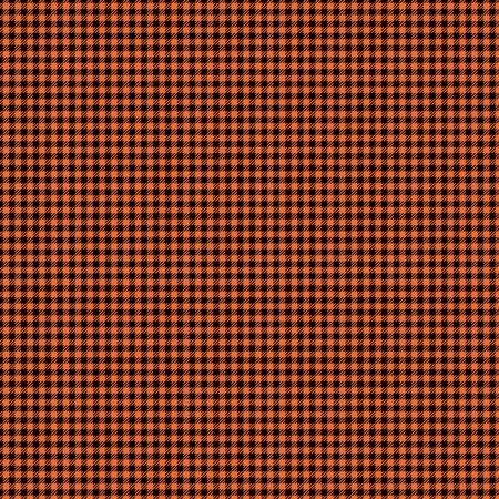 Black   Orange Checker Plaid Paper