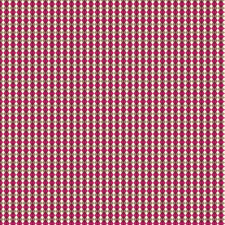 Brown & Raspberry Argyle Blend Paper