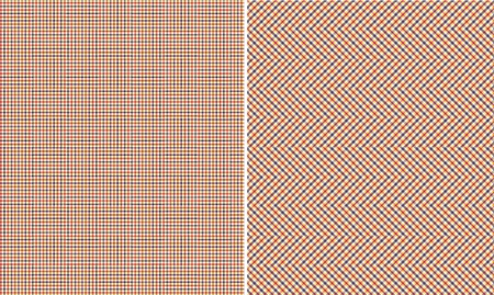 Pink Purple White & Yellow Plaid Paper Set Banco de Imagens