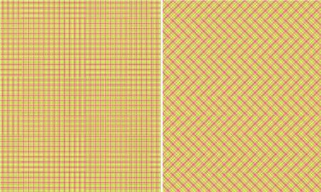 Spring Fever Plaid Paper Set Banco de Imagens