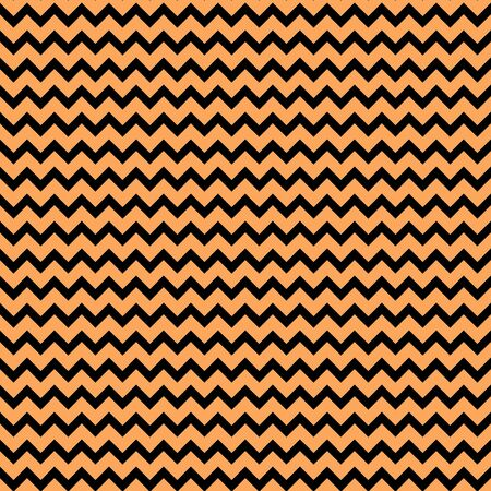 Orange Black Chevron Paper