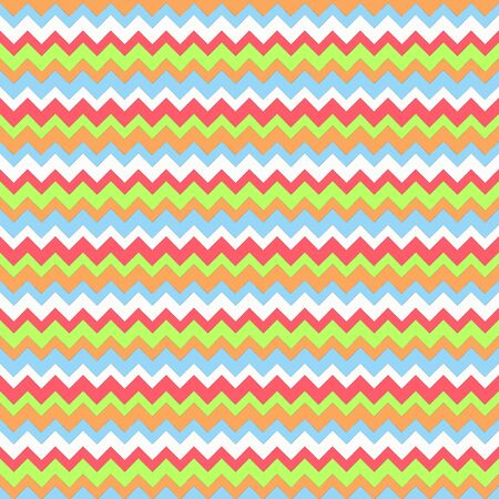 Summer Colors Chevron Paper Stock fotó