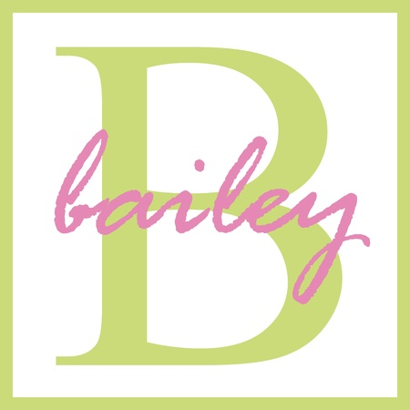 Bailey Name Monogram