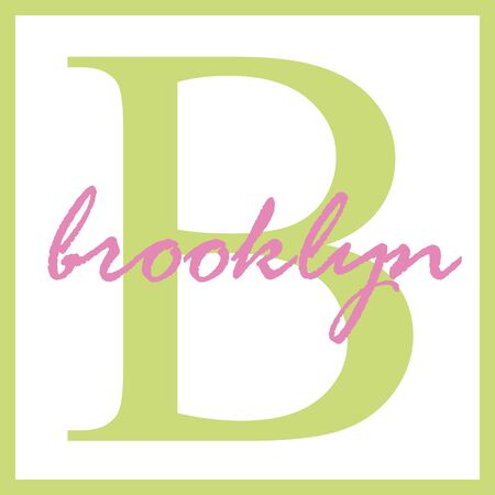 Brooklyn Name Monogram