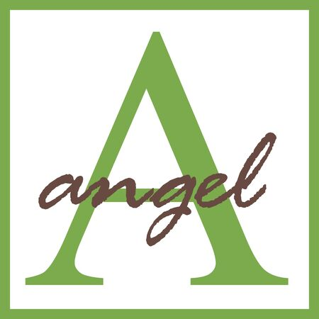 Angel Name Monogram