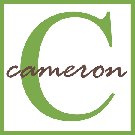 Cameron Name Monogram Stock Photo