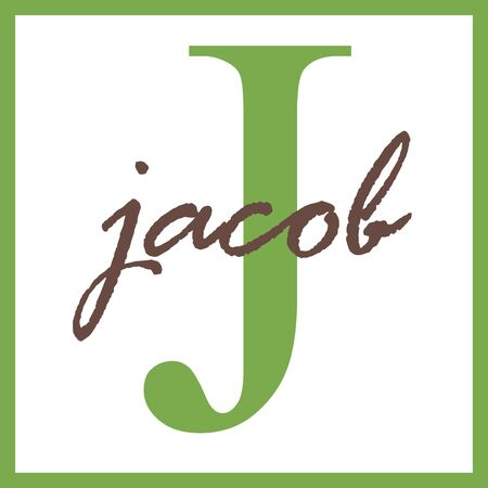 Jacob Name Monogram