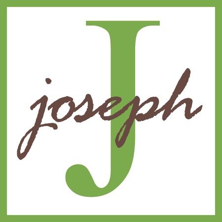 Joseph Name Mongram