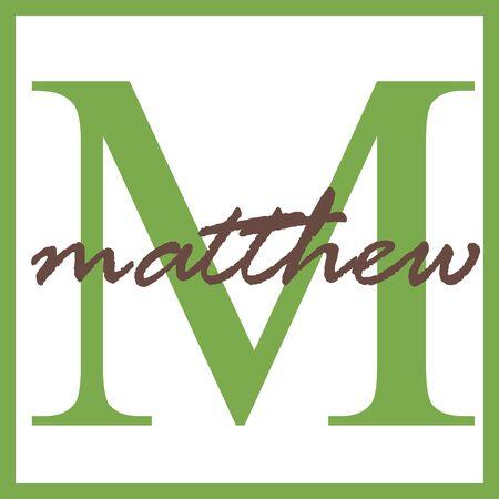 Matthew Name Mongram