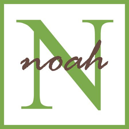 Noah Name Mongram