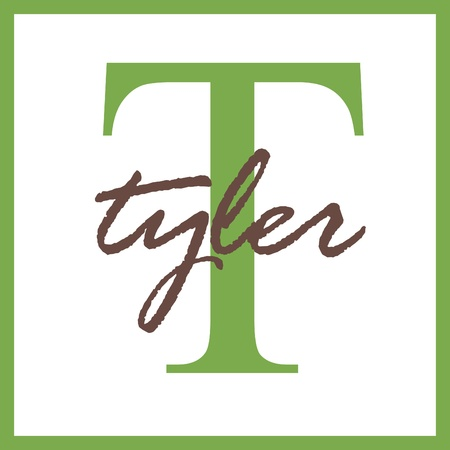 Tyler Name Monogram Stock Photo