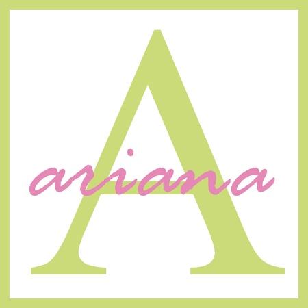 Ariana Naam van het Monogram
