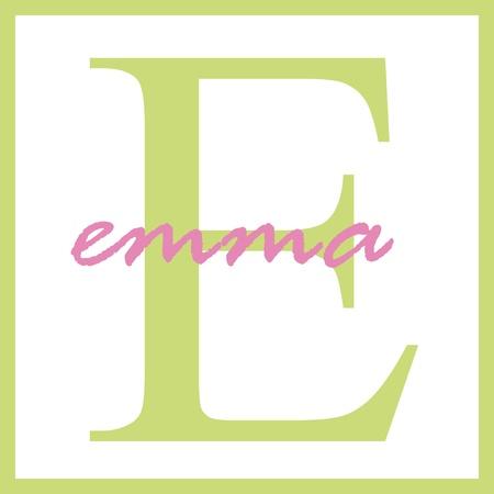 Emma Naam van het Monogram