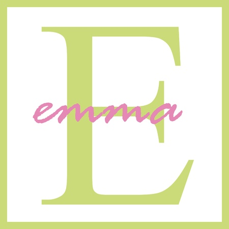 Emma Name Monogram photo
