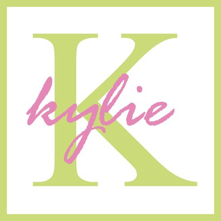 Kylie Name Monogram Stock Photo