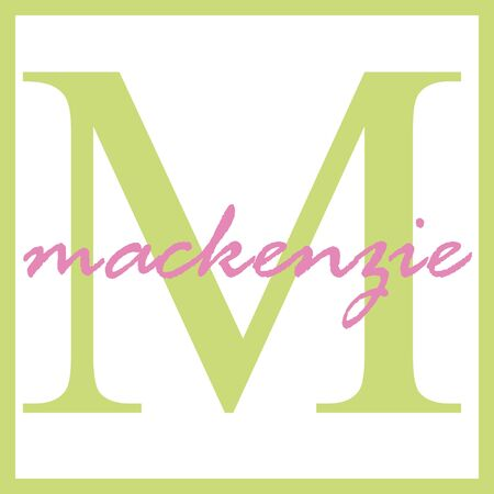 Mackenzie Name Monogram
