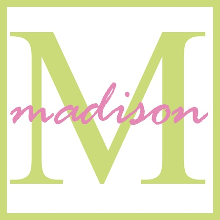 madison: Madison Name Monogram