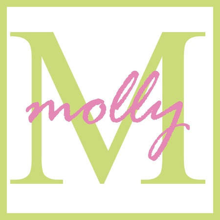 Molly Name Monogram