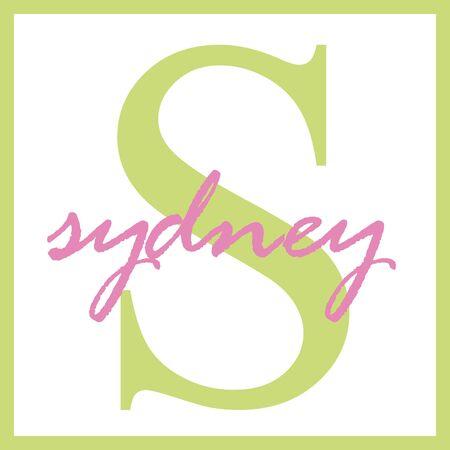 Sydney Naam Monogram