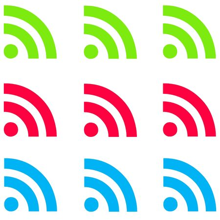 Feeds RSS fluorescentes