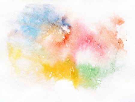 Abstract watercolor handpainted background  Stok Fotoğraf