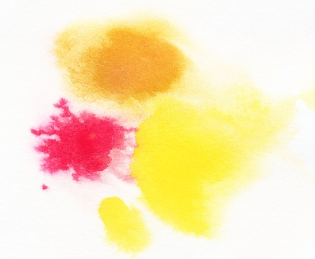 Abstract watercolor handpainted background. Painted on ruff paper with texture. Stock Photo - 13165525