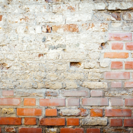 Urban grungy street wall, may be used as background or texture Stock Photo - 14035918