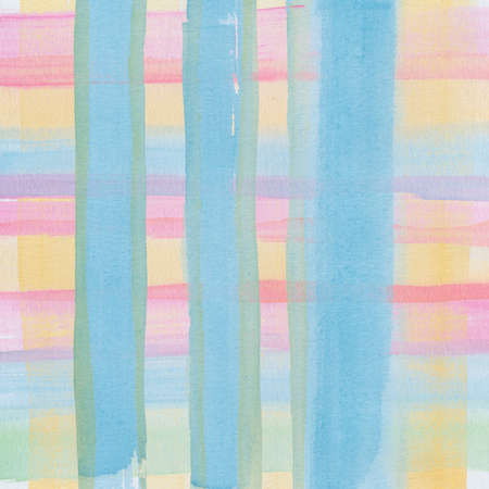 Abstract watercolor painting scanned in high resolution with ruff paper texture. Design element. Stock Photo - 14035950