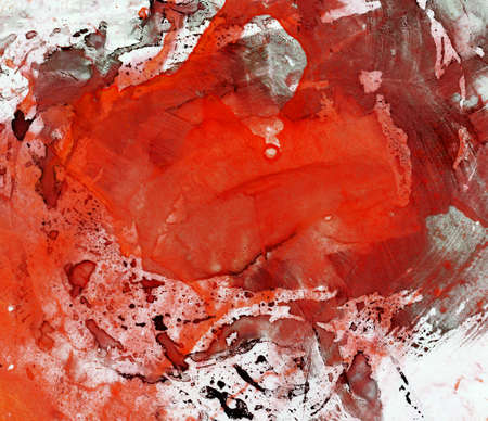 Abstract watercolor painting. Design element. photo