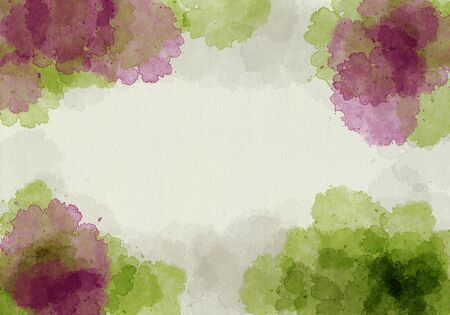 ruff: Abstract watercolor painting. High resolution with ruff paper texture. Design element.