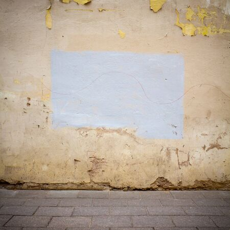 Urban grungy street wall, may be used as background or texture Stock Photo - 14310509