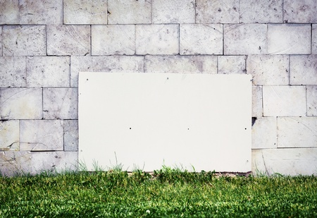 Urban grungy street wall, may be used as background or texture Stock Photo - 14635242