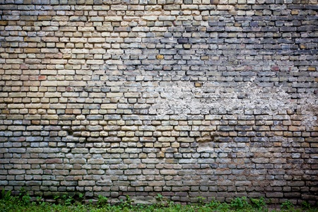 Urban grungy street wall, may be used as background or texture Stock Photo - 16259598