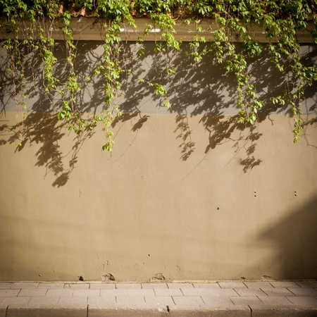 Urban grungy street wall, may be used as background or texture Stock Photo - 16317900