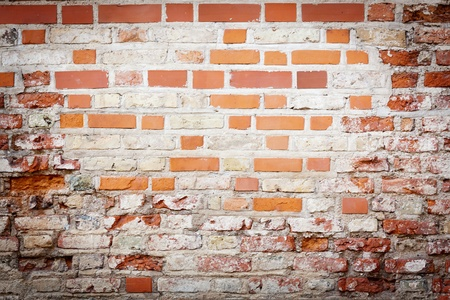 Urban grungy street wall, may be used as background or texture Stock Photo - 16259315