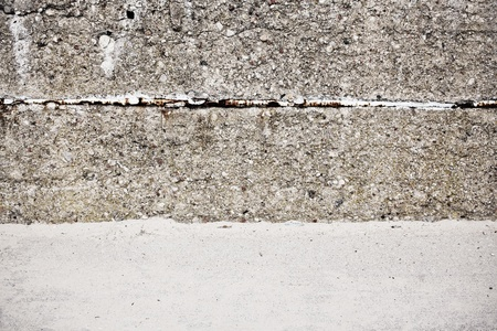 Urban grungy street wall, may be used as background or texture Stock Photo