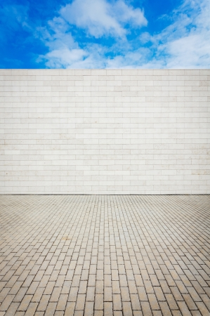 Urban grungy street wall, may be used as background or texture Standard-Bild