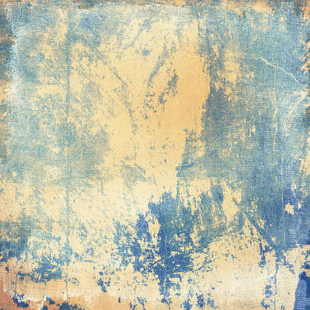 Grunge blue creased and scratched  background, design element photo