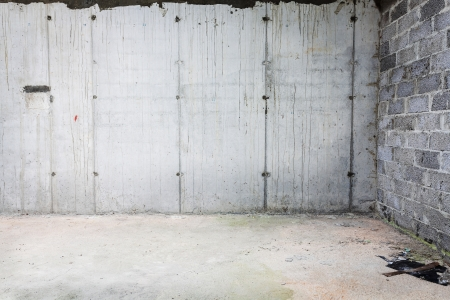 Empty concrete wall, may be used as texture or background photo